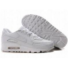 http://www.asneakers4u.com/ 309299 124 Nike Air Max 90 White White D05089