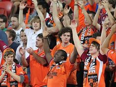 Sea of orange-wearing Brisbane Roar fans will have to pay dearly to see grand final