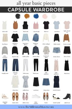 Capsule Wardrobe Women, Capsule Outfits, Neue Outfits, Fashion Capsule, Wardrobe Basics, New Wardrobe, Capsule Wardrobe Winter, Capsule Wardrobe Examples, Capsule Wardrobe How To Build A