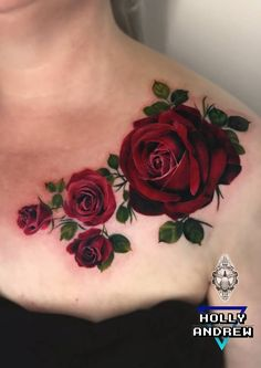24 new ideas tattoo sleeve women flowers beautiful roses ink Dope Tattoos, Girly Tattoos, Body Art Tattoos, Tatoos, Rose Tattoos For Women, Sleeve Tattoos For Women, Colorful Rose Tattoos, Red Rose Tattoos, Coloured Rose Tattoo