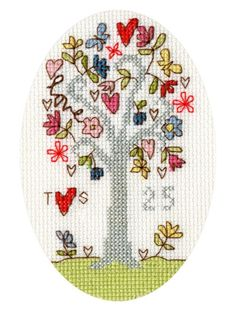 Celebrate 25 years together with this silver wedding anniversary cross stitch card kit from Bothy Threads. Cross Stitch Letter Patterns, Cross Stitch Letters, Cross Stitch Cards, Cross Stitch Kits, Stitch Patterns, Anniversary Cards, Wedding Anniversary, Bothy Threads, Tapestry Kits