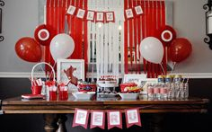 Ideas to Celebrate Your Home Country's Independence Day With Your Kids - Spangli. Peruvian Independence Day, 30th Birthday Themes, Welcome Home Parties, Ideas Para Fiestas, Circus Party, 4th Of July Party, Party Centerpieces, Party Invitations, Crafts For Kids