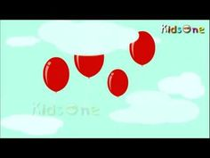 moral stories: My Red Ballon English Animated Rhymes for Kids