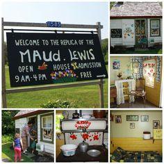 Replica Maud Lewis House in Digby, Nova Scotia Maudie Lewis, Canadian Girls, Atlantic Canada, O Canada, True North, Classroom Crafts, Prince Edward Island, New Brunswick, Work Travel