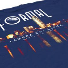 Lambda Chi Alpha - LXA - Formal Design - Lambda Chi - Fraternity Tshirts - Check out b-unlimited.com!