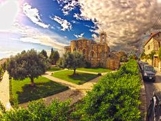 Lebanon, Byblos, 11th century Church of Sts. Peter & Paul & nice grounds