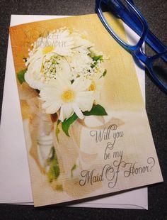 Will you be my Bridesmaid card wedding by LilyLilesWeddingco, $4.95  https://www.etsy.com/listing/177844765/will-you-be-my-bridesmaid-card-wedding