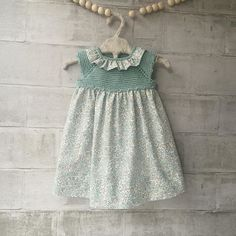 Algodón y batista súper fresquita #pelotedelainebb #handmade #hechoamano #handmade #hechoenespaña #vestido #fashionkids
