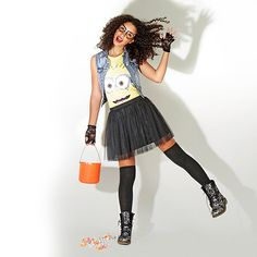 """The """"haunt"""" for the perfect Halloween costume is over! Shop Halloween costumes at Wet Seal: http://www.wetseal.com/catalog/thumbnail.jsp?categoryId=106&subCategoryId=199"""