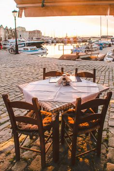 What do you think of when you think about Crete? A sandy island in the Med, feta filling plates. Chania Greece, Mykonos Greece, Athens Greece, Corfu, Santorini, Overseas Adventure Travel, Greek Isles, Travel Humor, Greece Islands