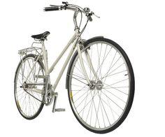 Cooper Bikes Ladie Woman T250 Oporto White Road Bicycle 48cm, 52cm, 57cm Sizes #CooperBikes