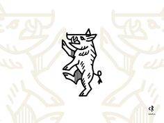 I must say that I love aesthetics of medieval coat of arms. So here is boar - symbol of endurance and couradge. Ox Tattoo, Norse Tattoo, Head Tattoos, Graphisches Design, Icon Design, Logo Design, Graphic Design, Traditional Tattoo Black And White, Bicycle Tattoo