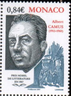Yesterday was the United States Postal Service's official release date for their new Mark Twain stamp, which got us to thinking about all the authors we've seen on stamps, whether on American or foreign postage. Albert Camus, Monaco, Gabriel Garcia Marquez, Literary Heroes, Stamp World, Postage Stamp Collection, Commemorative Stamps, Nobel Prize Winners, Rare Stamps