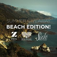 We've teamed up to give you the ultimate bundle of #BeachBum essentials to help you #ExploreMore this summer. The winner will receive:  @zealoptics sunnies,  @besodesal bikini, @ssekodesigns sandals!  Competition details: Step 1. Follow all 3 brands. Step 2. Tag 3 friends in the comments. Step 3. Click the link to enter (http://bit.ly/1K7seSs)!  Competition is worldwide and not redeemable for cash/vouchers.  Winner will be selected at random on Monday the 29th of June at 12pm (MST).