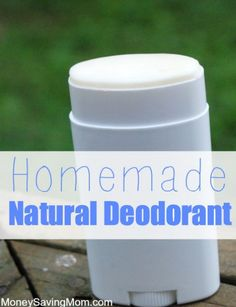 At first thought, making your own deodorant may seem far fetched, but believe me — it's not! Odds are good that you already have most, if not all, of the ingredients in your kitchen cupboards.