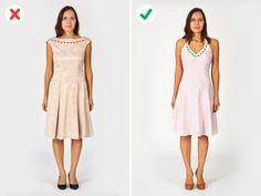 7 Errores a la hora de elegir tu ropa que te hacen lucir menos delgada