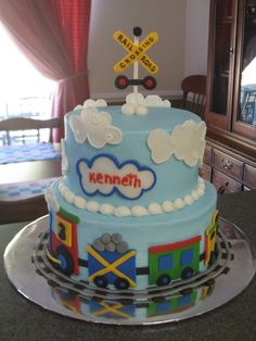 Train Cake Photo: This Photo was uploaded by JKCustomCakes. Find other Train Cake pictures and photos or upload your own with Photobucket free image and...
