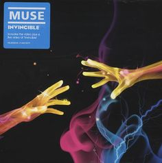 2007 Muse - Invincible (DVD single) [Helium 3 HEL3005DVD] illustration by Jasper Goodall #albumcover