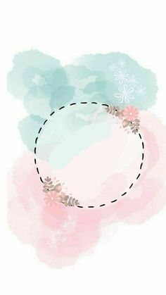 Wallpaper phone wallpapers backgrounds beautiful 34 ideas for 2019 Flower Background Wallpaper, Pastel Wallpaper, Flower Backgrounds, Wallpaper Backgrounds, Iphone Wallpaper, Logo Background, Handy Wallpaper, Watercolor Background, Watercolor Flowers