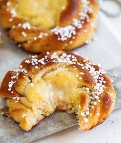 Baking Recipes, Cake Recipes, Snack Recipes, Dessert Recipes, Swedish Recipes, Sweet Recipes, Delicious Fruit, Yummy Food, No Bake Snacks