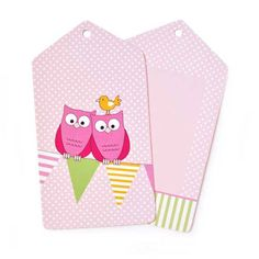Pink Owl Styling Tags $5.95