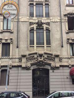 random milanese building liberty style