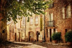 French Village Street / Meyssac Print by Barry O Carroll Fine Art America, Fashion Photography, French, Canvas, Street, Prints, Painting, French People, Painting Art