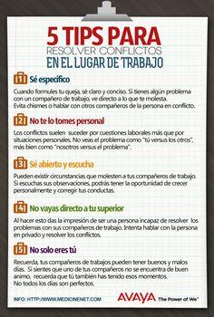 5 Tips para resolver conflictos laborales #Trabajo #empresas #pymes