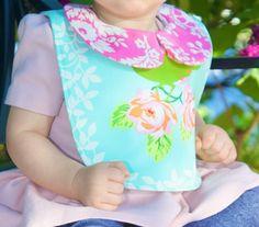 Spring time baby bib!