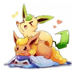 Leafeon flareon glaceon