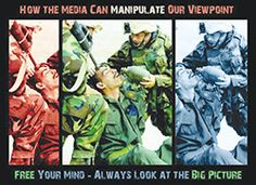 Funny pictures about How the media manipulates your viewpoint. Oh, and cool pics about How the media manipulates your viewpoint. Also, How the media manipulates your viewpoint photos. Best Funny Pictures, Funny Photos, Jokes Photos, Powerful Pictures, Satire, Media Literacy, Media Bias, Critique, George Orwell