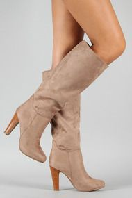 Dollhouse Embrace Suede Knee High Boot at UrbanOG.com. Love the style and color.