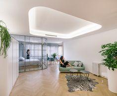 Manuel Ocaña Splits Large Old Flat Into Three Luxury Apartments in Madrid