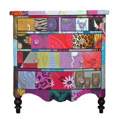 Patchwork chest by Bryonie Porter