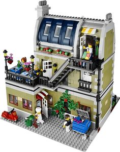 10243-1: Parisian Restaurant | Brickset: LEGO set guide and database