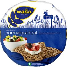 Wasa Maltidsknacke Normalgraddat - Rye Crispbead  Rounds http://www.ocado.com