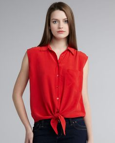 Shop Equipment tops today. Equipment is a world known brand that had been very popular in the 80's and is making it comeback this year. It is the brand that started the men's style into women's fashion. Check out this Equipment tops and see how it can do wonders to your fashion wardrobe today,This Equipment blouse boasts a modern cut and easy style you'll love to wear again and again.  Pls. visit http://www.equipmentfr.com/