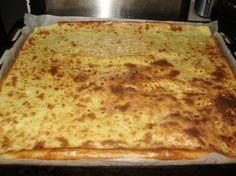 Raejuusto-pannari - Kotikokki.net - resepti - pannukakku Food And Drink, Cheese, Baking, Ethnic Recipes, Eat, Bedroom, Bakken, Bedrooms, Backen