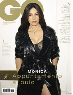 4a391bbed277 Monica Bellucci featured on the GQ Italy cover from February 2017 February  11