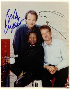 Billy... Whoopi... Robin... (autographs)