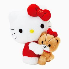 Hello Kitty  her personal Teddy (^O^☆♪