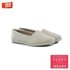 Conforto básico e super na moda #koquini #sapatilhas #euquero #alpargatas #espadrille Veja mais em: http://koqu.in/1grrvOP