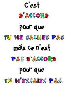 We learn French French Words, French Quotes, French Teacher, Teaching French, How To Speak French, Learn French, French Practice, French Education, French Expressions