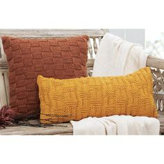 Like the Color - Textured Pillows