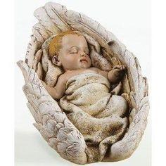 Baby in Wings Tabletop Figure