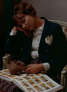 "Anna Karina in ""Pierrot le Fou"" by Jean-Luc Godard, 1965"