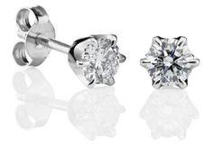 144-248V-40B3_Leonora Diamond Jewelry, Stud Earrings, Design, Products, Fashion, Diamond Jewellery, Moda, Fashion Styles, Stud Earring