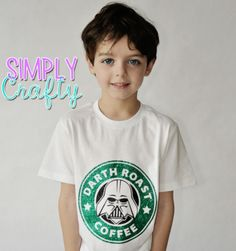Darth Vader Starbucks Coffee Shirt @simplycrafty1