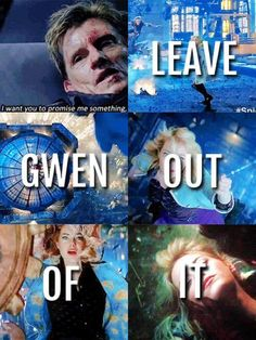 Leave Gwen out of it...if he had only listened.  But they couldn't stay away from each other.