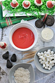 Santa Hat OREO cookie balls: spread some holiday cheer with this easy recipe!